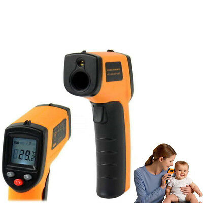 Non-Contact LCD IR Laser Infrared Digital Temperature Thermometer Gun Fast US