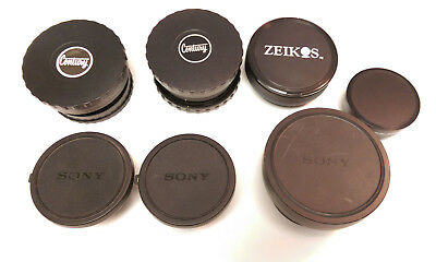 Lot of 8 Assorted Wide Angle Conversion Lenses