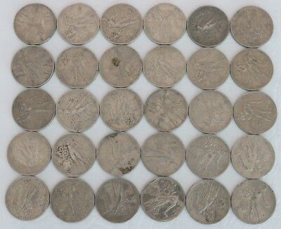 20 Centesimi Italy 1908-1922 Coin Lot Of 30 World Foreign Combined Shipping C37