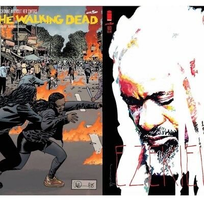 Walking Dead #183 Cover Set A&B (Preorder Release Date 9-5)