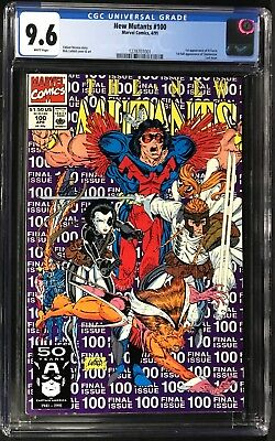 New Mutants (1991) #100 CGC 9.6 1st Full Appearance of Shatterstar & X-Force!