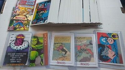 2015 Rittenhouse Marvel The Avengers Silver Age Cards You Pick UPick Cards Lot