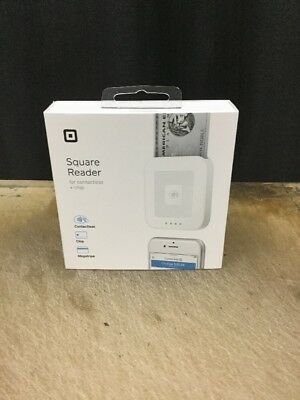 Genuine Square Reader For Contactless and Chip Brand New Sealed