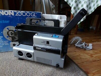 Chinon 2000GL Cine Projector – 8mm and Super 8 movie projector - needs attention