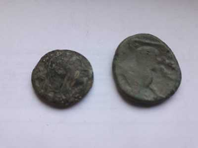 Lot Of 2 Ancient Celtic Bronze Coins
