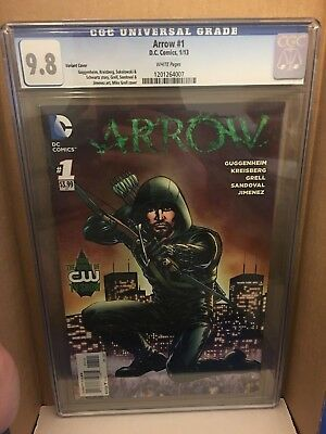 Arrow #1 CGC 9.8 Variant TV Show Green Arrow Not CBCS