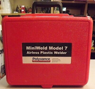 Polyvance Miniweld Model 7 Airless Plastic Welder