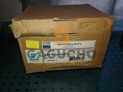 Sola Sdp4-24-100Rt Power Supply  New In Box