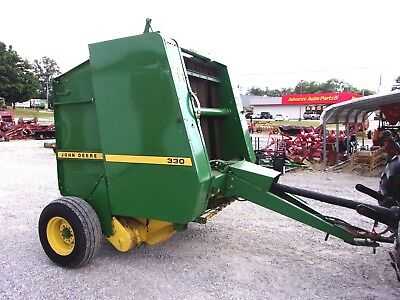 John Deere 330 Round Baler ----size 4x4, CAN SHIP @ $1.85 loaded mile