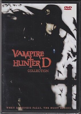 Vampire Hunter D | Special Edition + Blood Lust | 2 Movies (DVD, 1985, 2000)