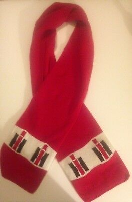 Vtg Rare International Harvester Farmall Warm and snuggly SCARF