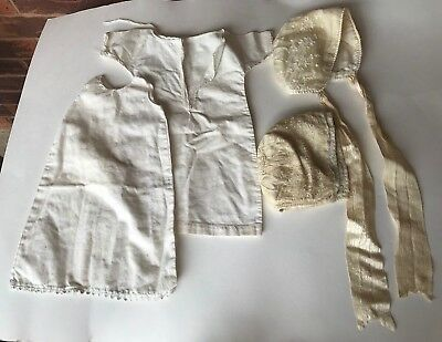 ANTIQUE LOT EARLY 1900S CHILDRENS BABY CLOTHING dresses bonnets
