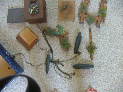 Vintage Cuckoo Clock Spares or Repair
