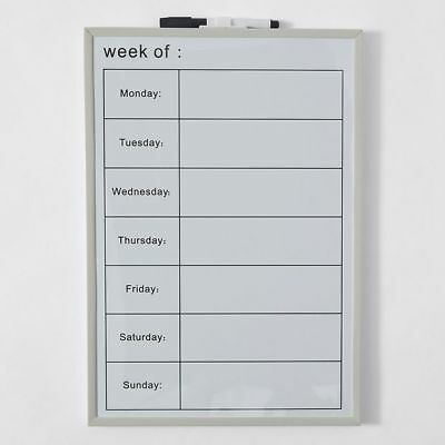 NEW Magnetic Board Weekly Planner
