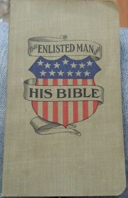 "Vintage 1905 Military Booklet ""The Enlisted Man And His Bible"""