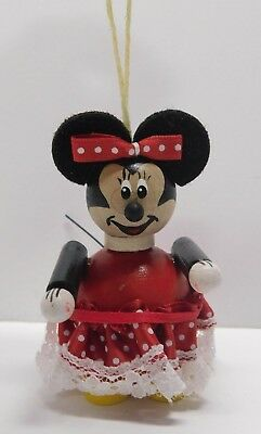Steinbach Minnie Mouse Ornament w/Box * Hand Made in Germany * FREE SHIPPING  **