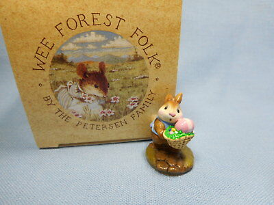Wee Forest Folk Tiny Easter Bunny  B-12