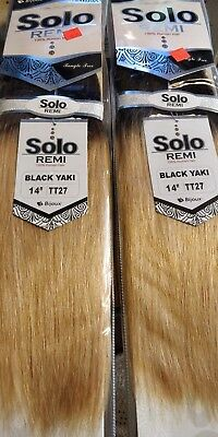 Solo Remi 100% Human Hair 2 packs ombre