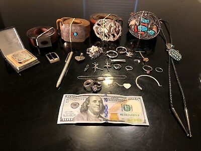 Sterling Silver Scrap, Wear, Repair (Some Native American, Western, etc.)