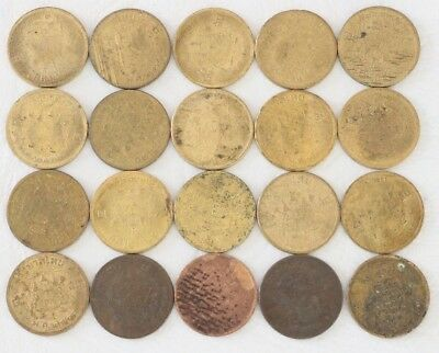 5 Satang Thailand 2500 (1957) Coin Lot Of 20 World Foreign Combined Shipping B73