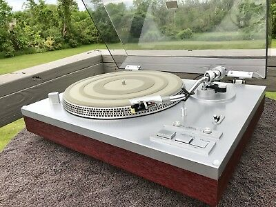 Yamaha YP-D6 Turntable, Shure RXP3 Cartridge, New Stylus, Not Perfect **