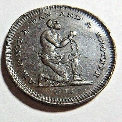 Middlesex - Spence - Male Slave - Conder Token Dh - 1082 - 1/4P - Xf/au -  Nr