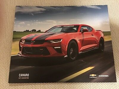 2017-2018 CHEVY CAMARO ACCESSORIES 52-page Original Sales Brochure