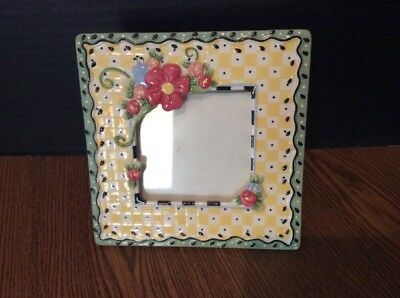 Mary Engelbreit Picture Frame Porcelain *1998
