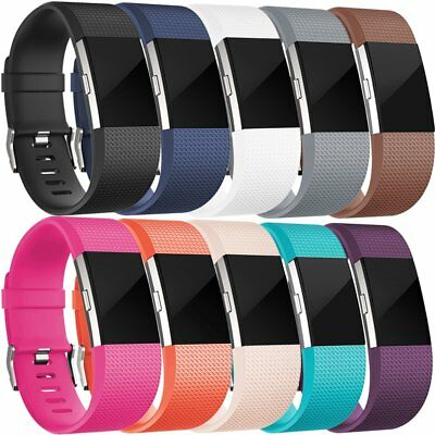 Wristband For Fitbit Charge 2 Replacement Silicone Accessories Fitness 10 PCS