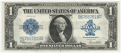 Circulated 1923 Silver Certificate--Ungraded $1 large size note #294, Fr. 237