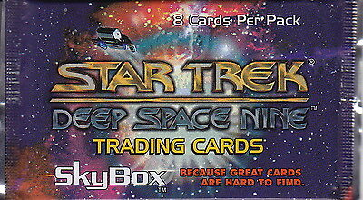 STAR TREK: Deep Space Nine - 1993 Trading Card Packs (10) by Skybox #NEW
