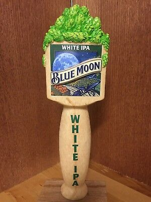 Blue Moon Tap Handle - White IPA w/ Hops Cluster
