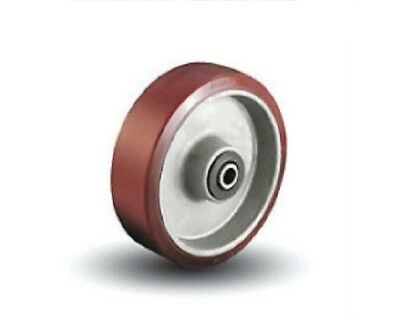"""Colson 6/"""" x 2/"""" Round Tread Gray Soft Wheel with 3//4/"""" to 1//2/"""" Bearing 5-6-556"""