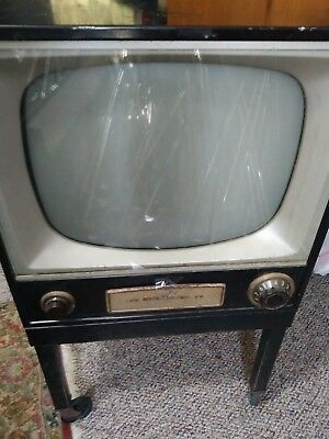 RCA VICTOR 1950S television--non-working--preowned vintage antique original