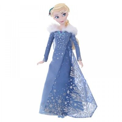 New Disney Store Japan Singing Doll Frozen Elsa From Japan F / S