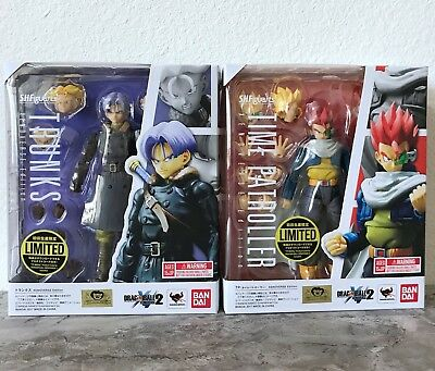 S.H.Figuarts Dragonball TRUNKS and TIME PATROLLER XENOVERSE Bandai