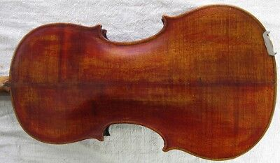 Antique Old Mathias Neuner Nro. 94 1883 German 7/8 4/4 Violin + Case + Bow 23""