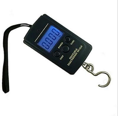 0.01g * 40kg Electronic Hanging Fishing Pocket Portable Digital Weight Scale New