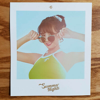 Momo Polaroid Photocard Twice The 2nd Special Album Summer Night Official Kpop