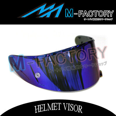 Blue Visor Shield Pinlock Pin Fit Shoei X14 Z7 RF-1200 NXR Helmet