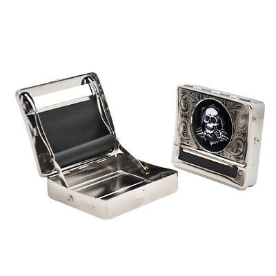 1 X Metal Automatic Cigarette Tobacco Roller Rolling Machine Box Case for 70MM