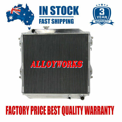 2Rows Aluminum Radiator For Toyota Surf KZN185 Prado KZJ90 & KZJ95 96-02 MT