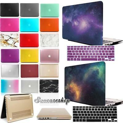 Rubberized HARD Case Cover With Keyboard Skin For 13 inch Macbook White (A1342)