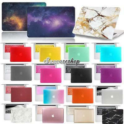 """Rubberized Case Cover With Keyboard Skin For MacBook Pro 13"""" 15"""" retina display"""