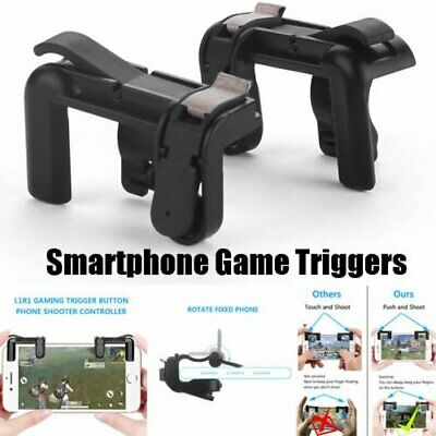 PUBG Mobile Phone Gaming Trigger Fire Button Handle For L1R1 Shooter US