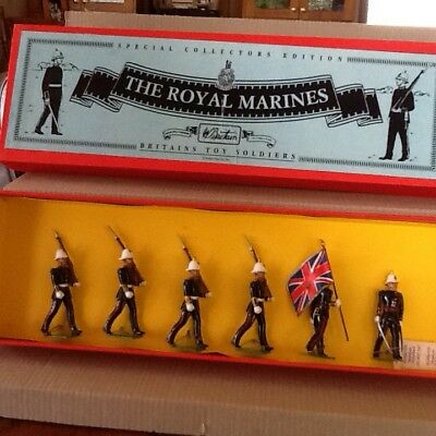 Britains Toy Soldiers Special Collectors Edition The Royal Marines (6) 8855