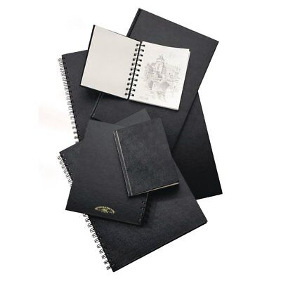 Winsor & Newton Hard Cover Wire-O Spiral Bound 110gsm Sketch Book A4