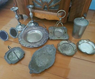 vintage silver ware. Ideal for vintage styled wedding.
