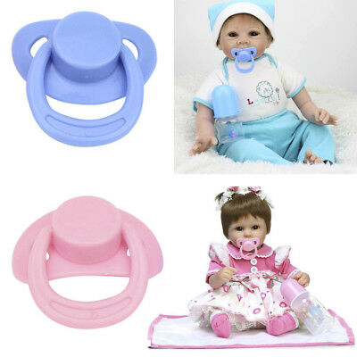 1PC New Dummy Pacifier For Reborn Baby Dolls With Internal Magnetic Accessories