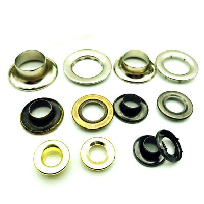 8/9.5/11.5/16/18mm Double Sided Eyelet Leathercraft Canvas Repair Grommet Banner